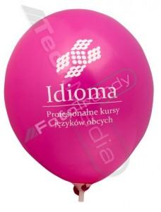 Balony reklamowe zachęcają do oferty