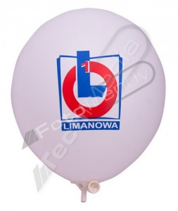 Balony z helem z każdym nadrukiem
